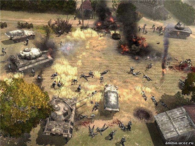 Скриншот к игре Company of Heroes. p strong em Автор статьи:br/em/strong Ва